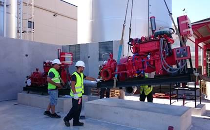 Sistemas de Abastecimiento de Agua para instalaciones PCI: Equipos de bombeo