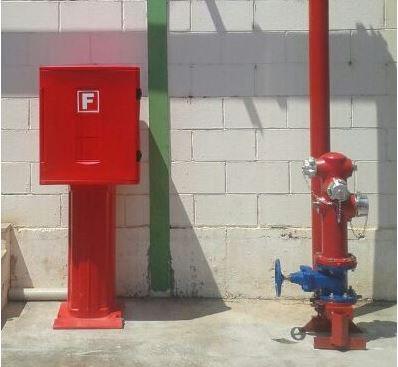 Armarios intemperie para dotación de hidrantes, amigos inseparables.