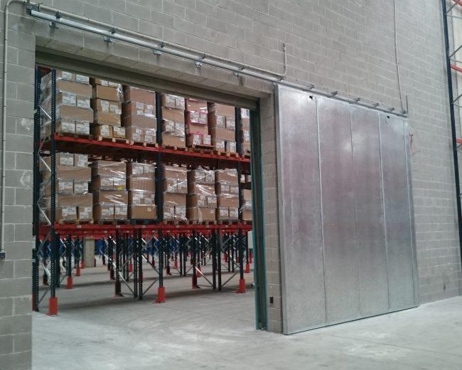Ampliación sistemas protección contra incendios almacén logístico en Valencia.