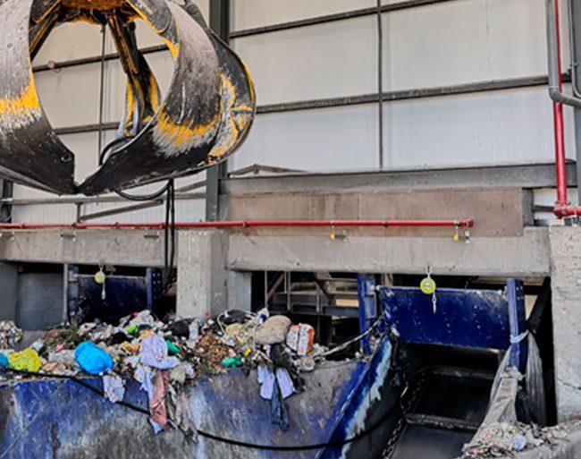 Proyecto global de Protección Contra Incendios en planta de reciclaje de Elche. Alicante.