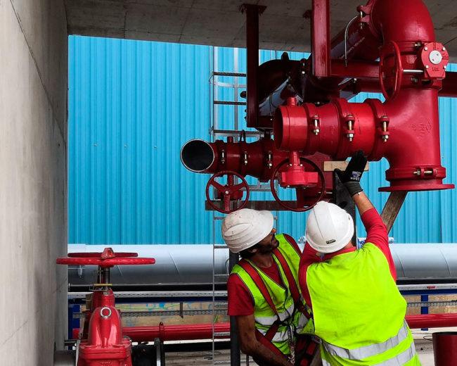 Mejora del sistema PCI en multinacional del sector del galvanizado de acero plano en continuo en su planta de Sagunto.